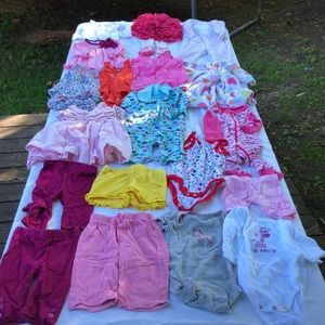 Bundle of 0-3 month girls clothes